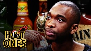 Download Youtube: Jay Pharoah Has a Staring Contest While Eating Spicy Wings | Hot Ones