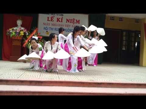 Múa nón Việt Nam quê hương tôi 9a3 THCS Từ Sơn 20/11/2013