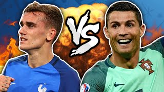 Cristiano Ronaldo vs. Antoine Griezmann - The FINAL Rematch!   Winners & Losers by Football Daily