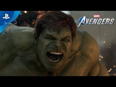 Marvel39s Avengers - A-Day Prologue Gameplay Footage  PS4