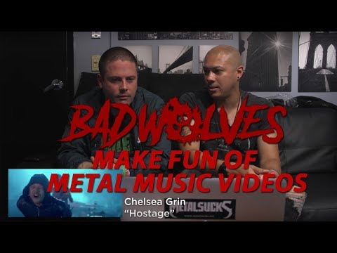BAD WOLVES Make Fun Of Metal Music Videos | MetalSucks