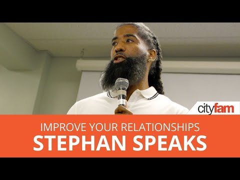 Stephan Speaks | How to Improve ALL of Your Relationships | SDSC Retreat 2019