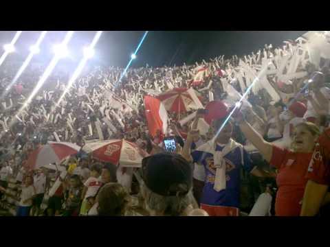 Final Sudamericana: entrada banda de Huracán - La Banda de la Quema - Huracán