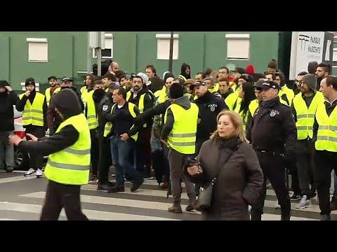 Portugal: Gelbwesten jetzt auch in Portugal - landesweite Demonstrationen