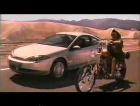 Ford Cougar (Dennis Hopper) - 1990's UK Advert