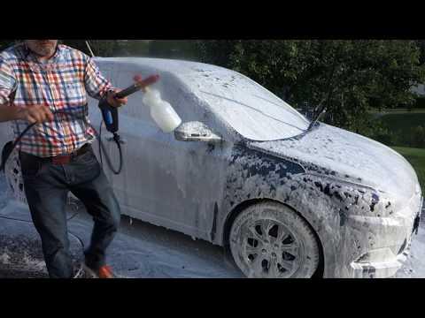 Chemical Guys Honeydew+Nilfisk E150+Autobrite Foam Lance 16/8-2017!