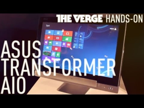0 ASUS shows Transformer All in One with Wind8 and Jelly Bean at CES