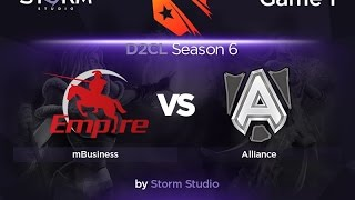Alliance vs mBusiness, game 1