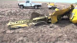 Saint George Australia  city photos gallery : aircraft crash VH-ODM St George Australia