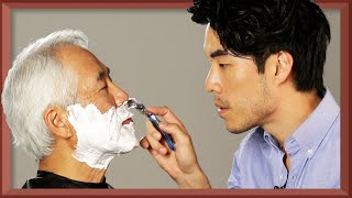 Video The Try Guys Shave Their Dads • Fatherhood: Part 4 MP3, 3GP, MP4, WEBM, AVI, FLV Maret 2019