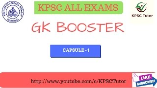 NEW COURSE: GK BOOSTER CAPSULE-1 Consists of mcq questions related to current affairs, India constitution, geography and history. To download PPT ...