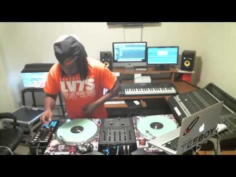 DJ TEEBOY DANCEHALL MIX!