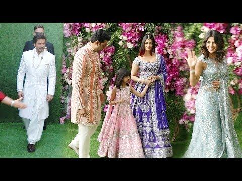ALL Bollywood Celebrities At Akash Ambani & Shloka Mehta @Wedding Ceremony Red Carpet
