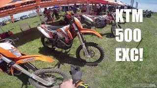 9. 2016 KTM 500 EXC Test Ride! The Monster!