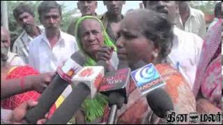 Senior Citizen Protest on Roads in Madurai - Dinamalar Dec 10th 2013 Tamil Video News