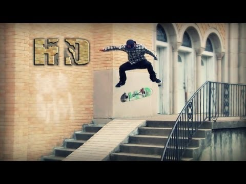 HD Skateboarding Montage: 2013 No.6