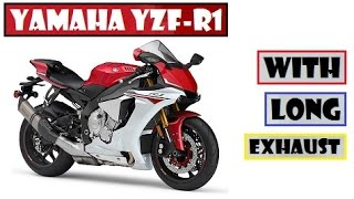 6. Yamaha YZF-R1, coming to Japan with a long exhaust, what do you think ?