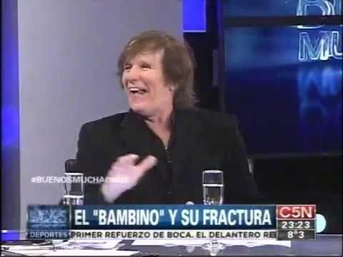 #BuenosMuchachos bambino veira historia de el lesionado y lo cuida una enfermera en un hotel