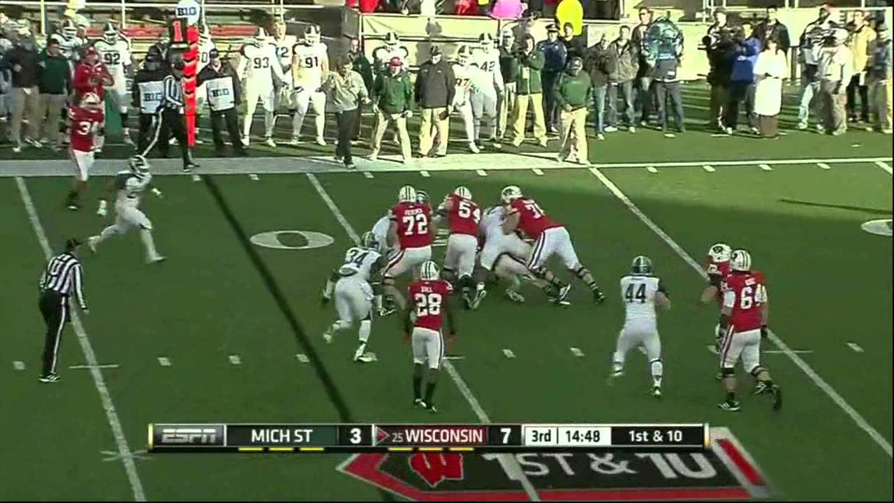 William Gholston vs Wisconsin (2012)