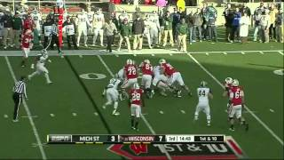 William Gholston vs Wisconsin (2012)
