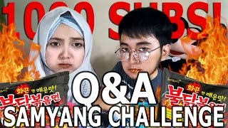 SAMYANG Q&A | SPECIAL 1000 SUBSRIBERS !!