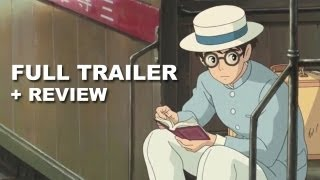 Nonton The Wind Rises Official Trailer   Trailer Review   Hayao Miyazaki Film Subtitle Indonesia Streaming Movie Download