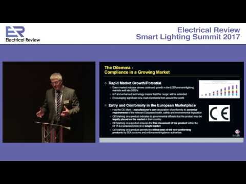 Smart Lighting Summit 2017: Steven Davies, The Lighting Industry Association