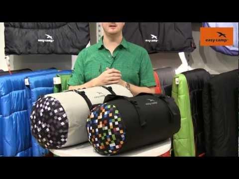 Відеоогляд туристичної сумки Easy Camp Reel Duffle 45 Black/Pixel