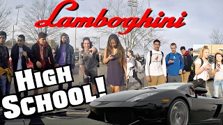 Video Driving My Lamborghini To High School At 17! Funny Supercar Reactions!! MP3, 3GP, MP4, WEBM, AVI, FLV Juni 2019