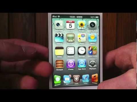 ios 5 - Bonjour! Dans cette vidéo, je vais vous présenter toutes les applications et tweaks Cydia que j'ai présentement installé sur mon iPod Touch 4G jailbreaké sou...