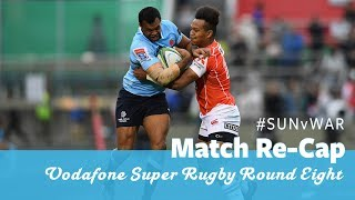 Sunwolves v Waratahs Rd.8 2018 Super Rugby video highlights