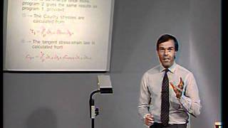Lec 16 | MIT Finite Element Procedures For Solids And Structures, Nonlinear Analysis