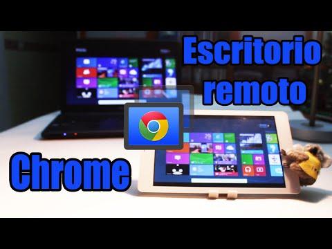 Controlar tu PC desde Android: Escritorio remoto de Chrome