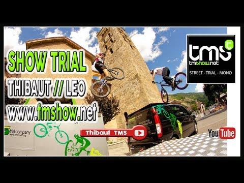 SHOW TRIAL TMS Thibaut & Léo Nobile