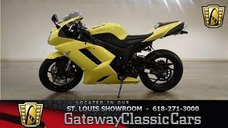 3. 2008 Kawasaki ZX6R - Gatway Classic Cars St. Louis - #6481