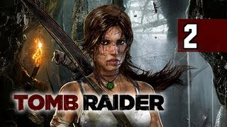 Tomb Raider Walkthrough - Part 2 Bow&Arrow 2013 Let's Play Gameplay Commentary