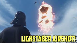 Vader Vs. Snowspeeder Airshot! Stormtrooper.exe Not Responding! Star Wars Battlefront Beta