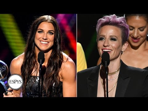 Alex Morgan wins Best Female Athlete, USWNT takes home Best Team ESPY | 2019 ESPYS