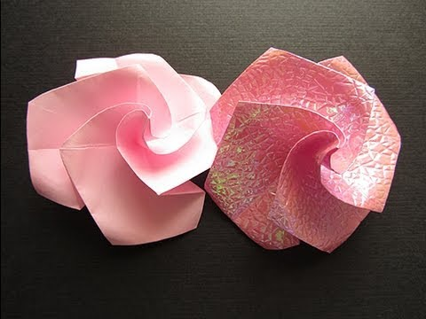Flower Tutorial - 020 -- Twisty Rose