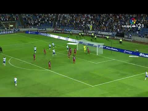 Resumen de CD Tenerife vs Real Zaragoza (1-0)