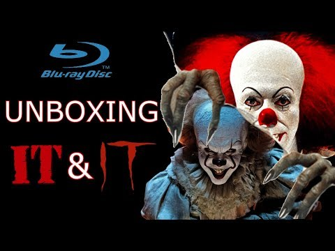 Unboxing IT 1990 IT 2017 Bluray
