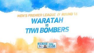 Waratah vs Tiwi Bombers: Round 16 — Men's Premier League: 2018/19 TIO NTFL