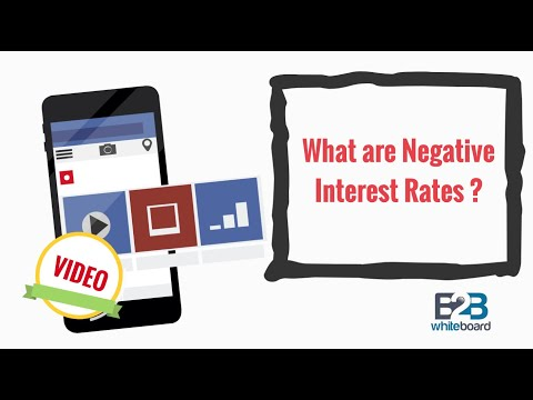 What Are Negative Interest Rates ?