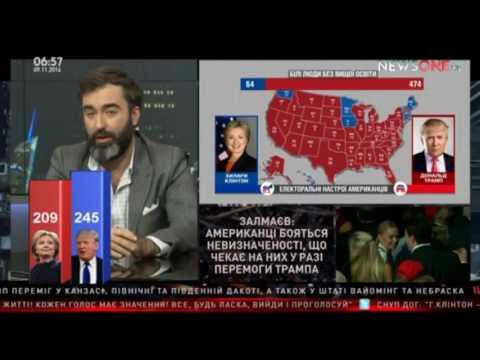 NewsOne: Залмаев (Zalmayev) письмо директора ФБР повлияло на избирательную кампанию в США