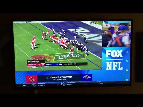 NFL on FOX Today Game Break Update: Cardinals @ Ravens on FOX