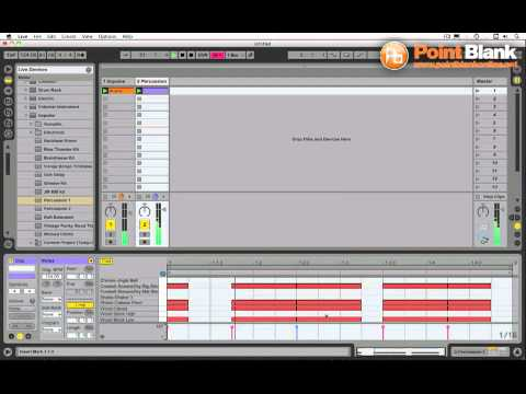 Ableton Live Tutorial – Arpeggiator Percussion Trick