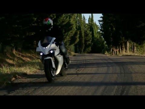 energica - la prima super moto italiana 100% elettrica