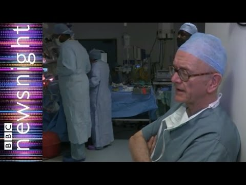 A day in the life of NHS neurosurgeon Henry Marsh - Newsnight
