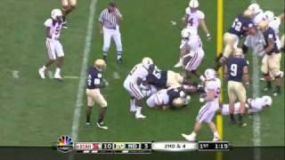 Shayne Skov vs Notre Dame (2010)