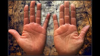 """Please watch: """"CHILDREN & MARRIAGE LINES Male Palm Reading Palmistry #146"""" https://www.youtube.com/watch?v=AOY4nZmF8wA-~-~~-~~~-~~-~-This is a full in-depth female hand & palm reading.GET A HAND/PALM READING: https://goo.gl/NzTwnESUBSCRIBE: http://goo.gl/HkaCq6     WEBSITE: http://goo.gl/mE7gmILEARN TO READ PALMS: https://goo.gl/73kxLxLines, configurations, and markings are explained in this new series. Revealed through Hand & Palm Readings & Analysis - Palmistry.FULL In-Depth Female Palm Reading PalmistryKat Anders has a Masters Degree in the Health Sciences, a Bachelors Degree in music and has preformed over 6000 hand readings for well over 35 years.Video produced by BLACK STONE ENTERTAINMENT. Copyright. All Rights Reserved"""